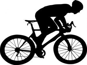 サイクリングでパンク