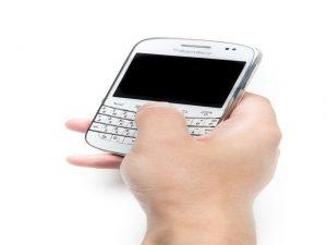 スマートフォンを盗まれた